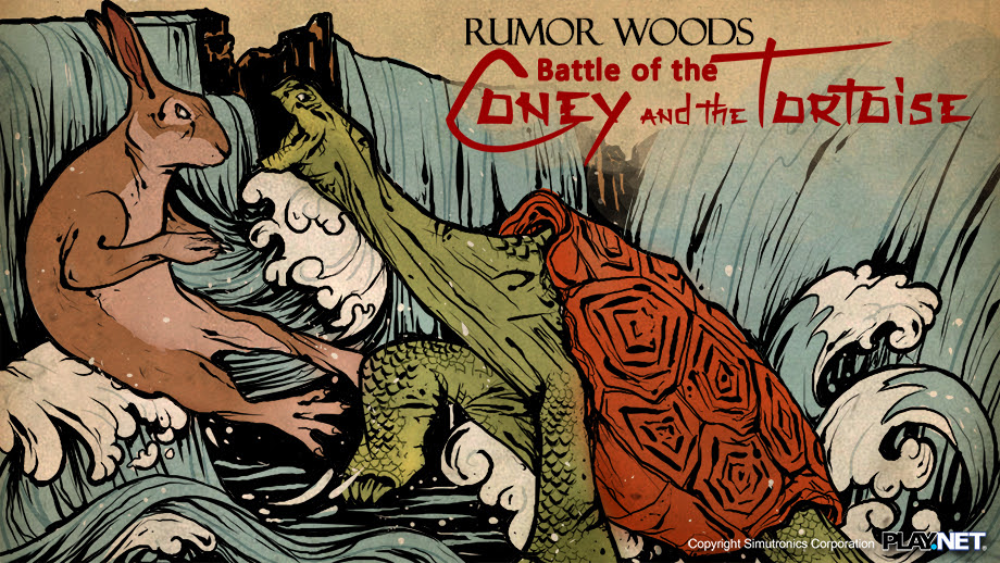 Rumor Woods: Battle of the Coney and the Tortoise
